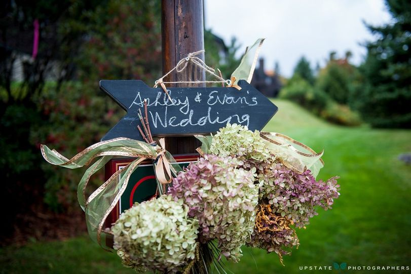 Ashley and Evan were married at the Whiteface Club in Lake Placid, on a rainy early fall day in...