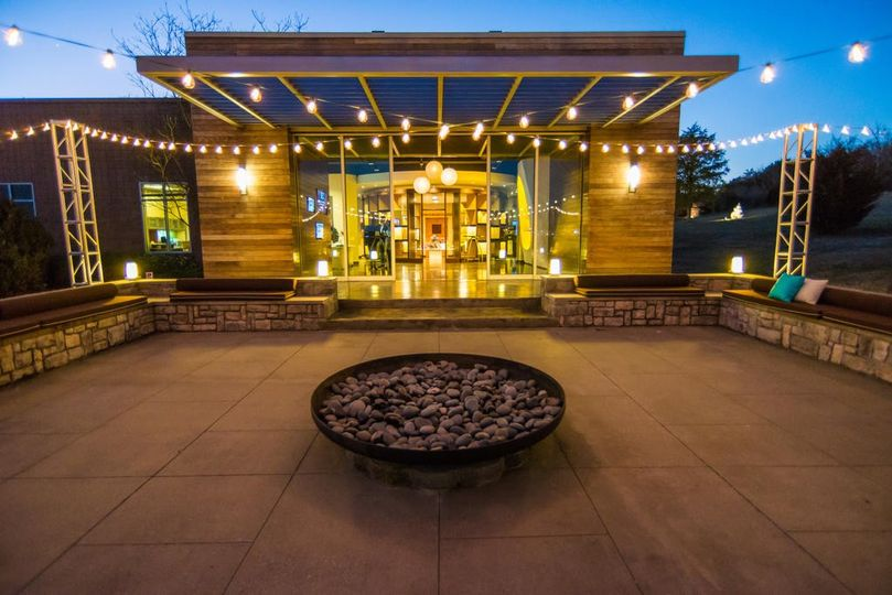 The Patio & Lounge at OZ Arts