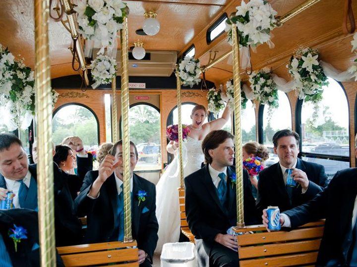 Tmx 1363015872147 TwinCitiesWeddingTrolley Minneapolis, MN wedding transportation