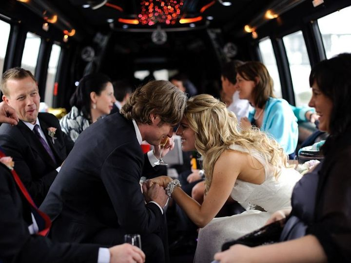 Tmx 1495231446507 Bride  Groom In Limo Coach Minneapolis, MN wedding transportation