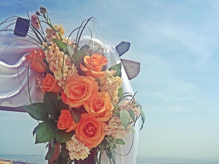 Tmx 1453226295596 Arch On The Beach Toms River, New Jersey wedding florist