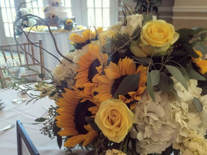 Tmx 1453226503590 Sunflower Centerpieces Toms River, New Jersey wedding florist
