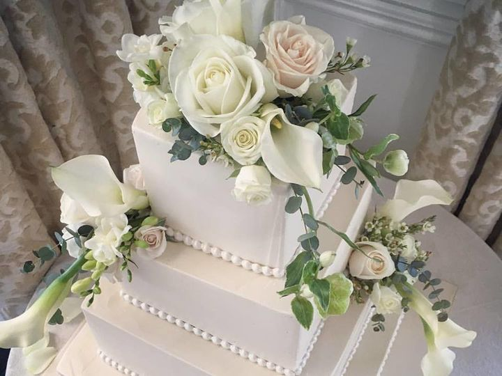 Tmx 1514492705215 Cake With Calla Cascade Toms River, New Jersey wedding florist