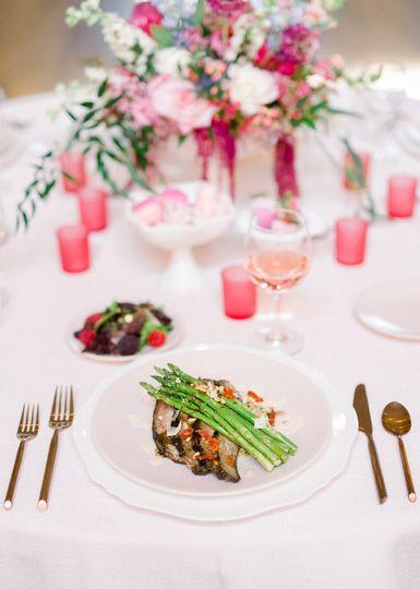 Flank steak and asparagus
