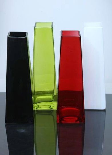 Colored Tapered Vases!