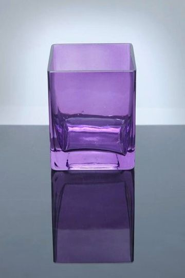 Purple Block Vase!