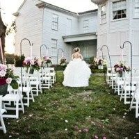 The historic Majors House can make a beautiful backdrop for your outdoor ceremony. No additional...