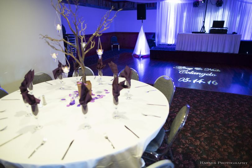 Our awesome set-up with Monogram light