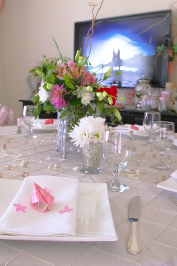 pink and pink tuck bridal shower 5