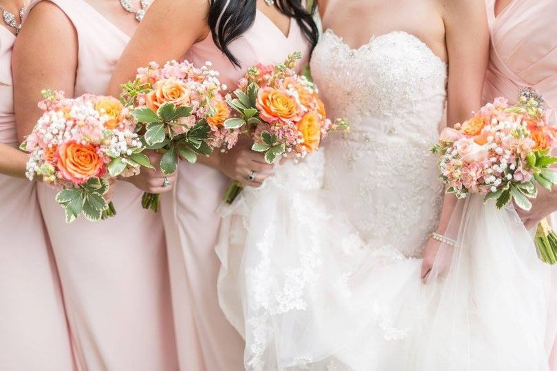 Bouquets on hand