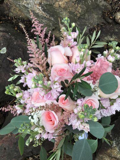 Pink Bohemian Bouquet