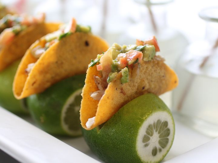 Tmx 1439579349309 Mini Tacos Resting On Fresh Lime Stand Morton Grove wedding catering