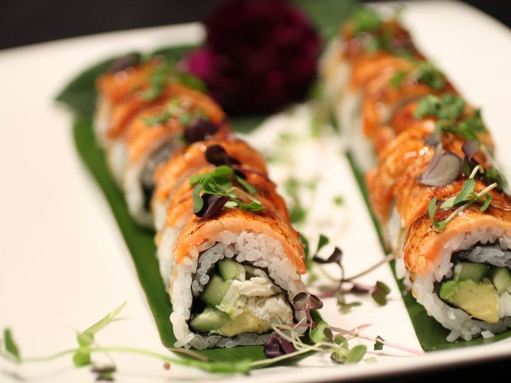Tmx 1439579928320 Spicy Torched Salmon Maki Morton Grove wedding catering