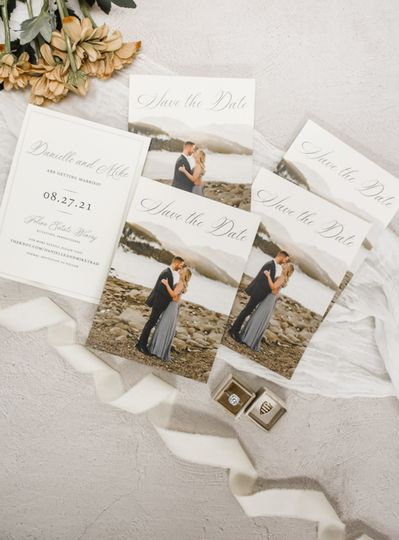 Photo save-the-date cards