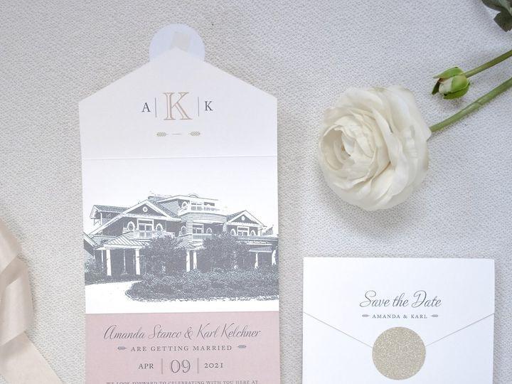 Tmx Amanda Stanco Save The Date 51 560428 159874833767793 Farmingdale, New Jersey wedding invitation