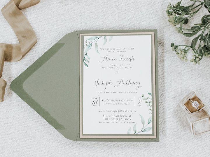 Tmx Amie Megill 51 560428 1569785187 Farmingdale, New Jersey wedding invitation
