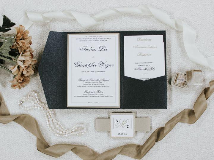 Tmx Andrea Detoro 51 560428 1562540751 Farmingdale, New Jersey wedding invitation