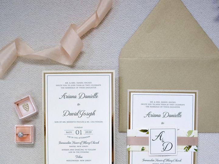 Tmx Ariana Hackes 51 560428 159874833999877 Farmingdale, New Jersey wedding invitation