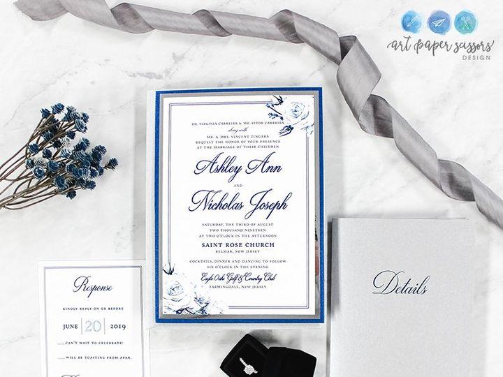 Tmx Ashley Ann 51 560428 1562540809 Farmingdale, New Jersey wedding invitation