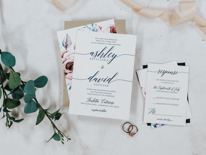 Tmx Ashley Battalina 51 560428 1562540789 Farmingdale, New Jersey wedding invitation