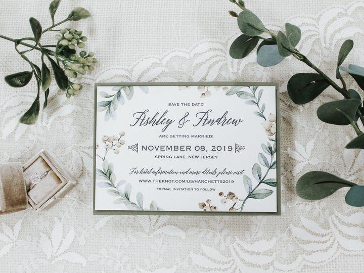 Tmx Ashley Harchett Save The Date 51 560428 Farmingdale, New Jersey wedding invitation