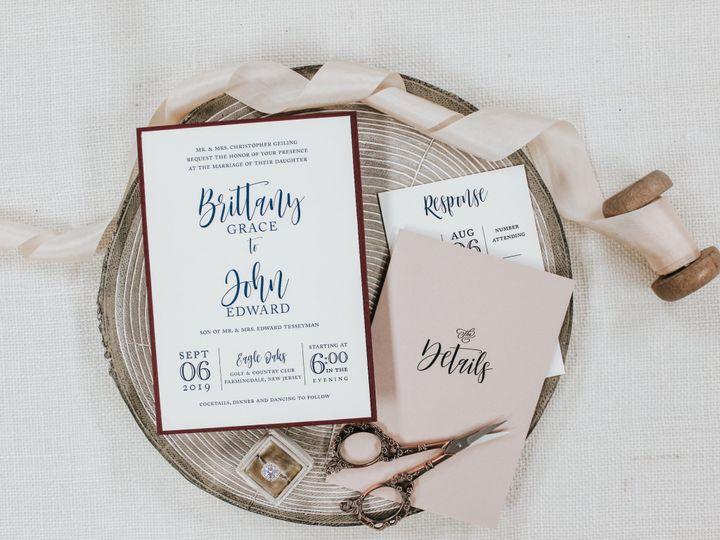 Tmx Brittany Geiling 51 560428 1564795676 Farmingdale, New Jersey wedding invitation