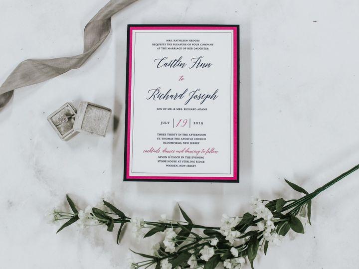 Tmx Caitlin Hedges 51 560428 1562540751 Farmingdale, New Jersey wedding invitation