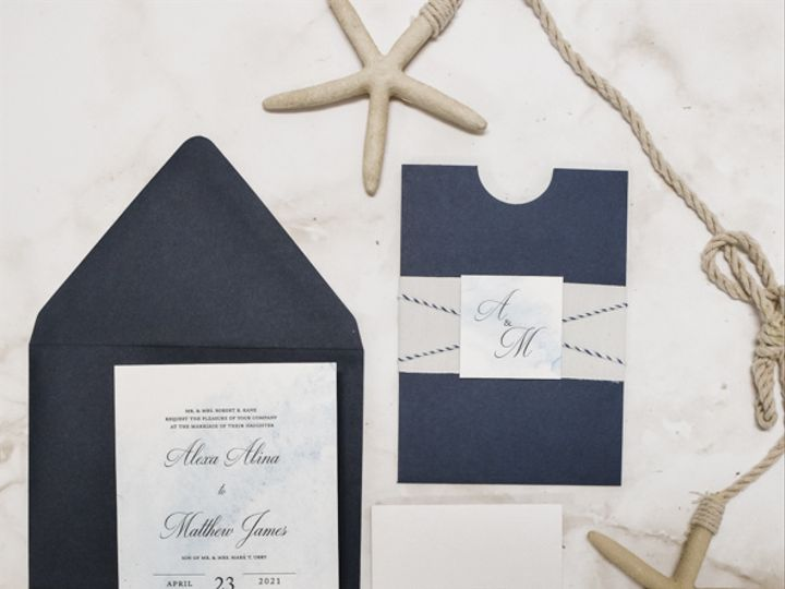Tmx Coastal Watercolor Nj Wedding Invitations 51 560428 162051204540301 Farmingdale, New Jersey wedding invitation