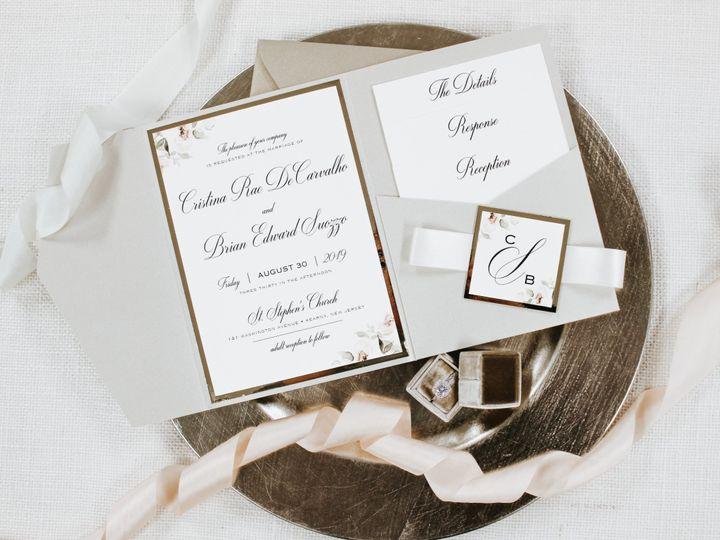Tmx Cristina Decarvalho 51 560428 1562540751 Farmingdale, New Jersey wedding invitation
