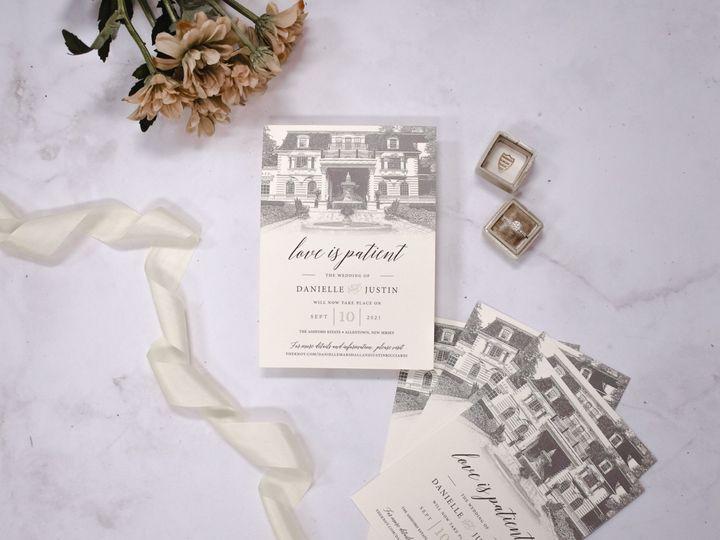 Tmx Danielle Marshall Change The Date 2 51 560428 159699534627620 Farmingdale, New Jersey wedding invitation