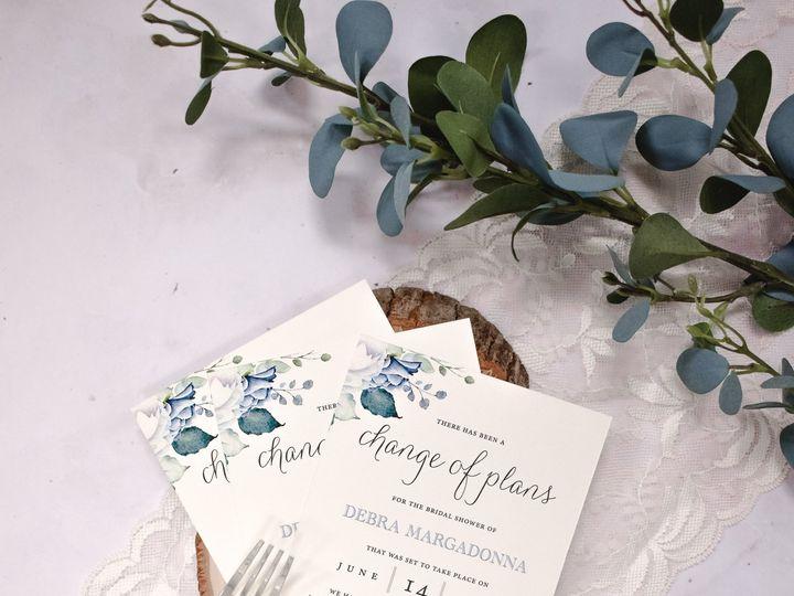 Tmx Debra Margadonna Bridal Shower Change The Date 51 560428 159699534693316 Farmingdale, New Jersey wedding invitation