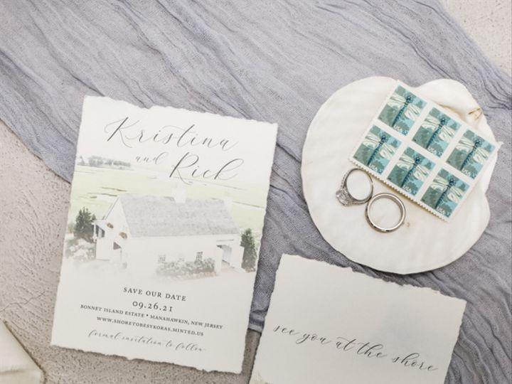 Tmx Deckled Edge Nj Wedding Save The Dates 51 560428 162051204811093 Farmingdale, New Jersey wedding invitation