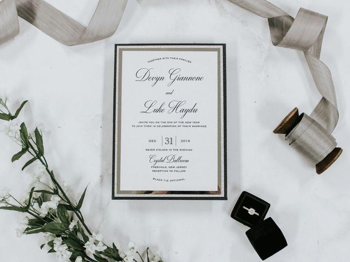 Tmx Devyn Giannone 51 560428 1572223089 Farmingdale, New Jersey wedding invitation