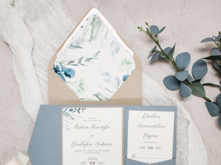 Tmx Dusty Blue Rustic Nj Wedding Invitation 51 560428 162051204912602 Farmingdale, New Jersey wedding invitation