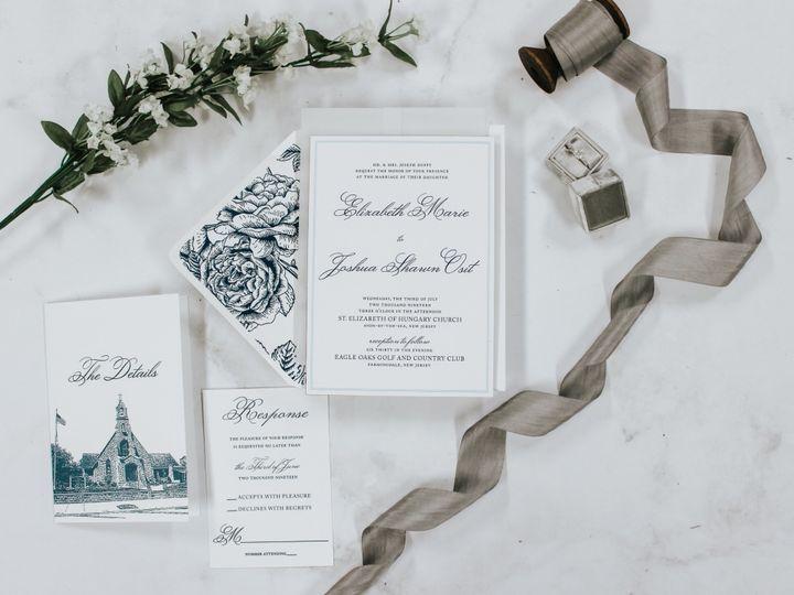 Tmx Elizabeth Duffy 2 51 560428 1559596353 Farmingdale, New Jersey wedding invitation