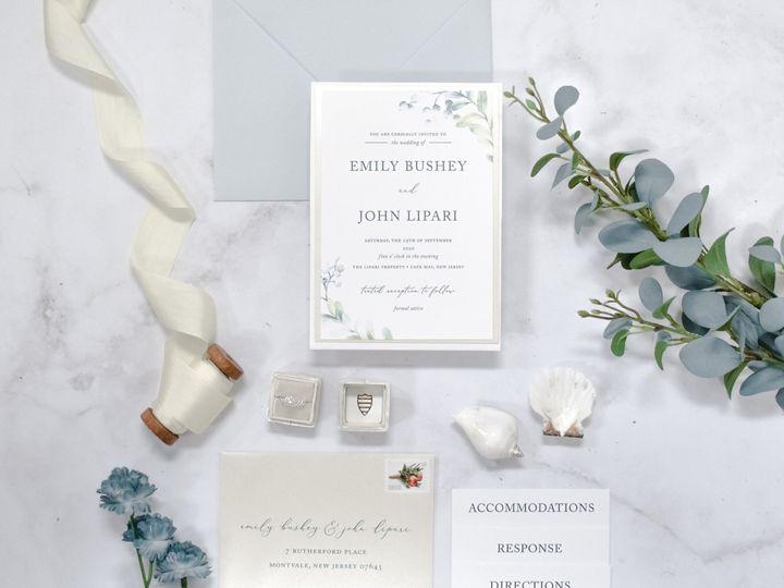 Tmx Emily Bushey 2 51 560428 159874836158984 Farmingdale, New Jersey wedding invitation