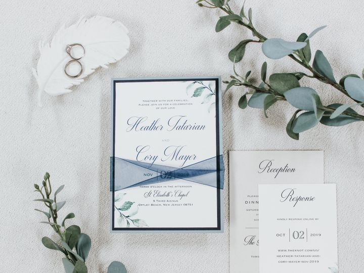 Tmx Heather Tatarian 51 560428 1569785201 Farmingdale, New Jersey wedding invitation