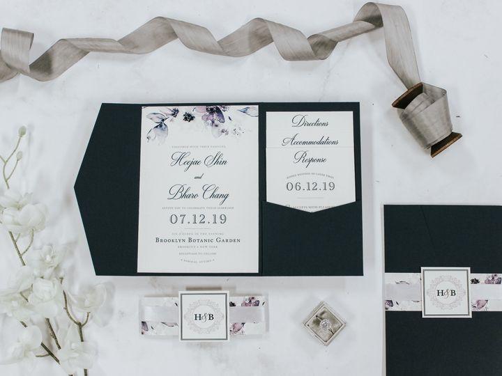 Tmx Heejae Shin 51 560428 1559596353 Farmingdale, New Jersey wedding invitation
