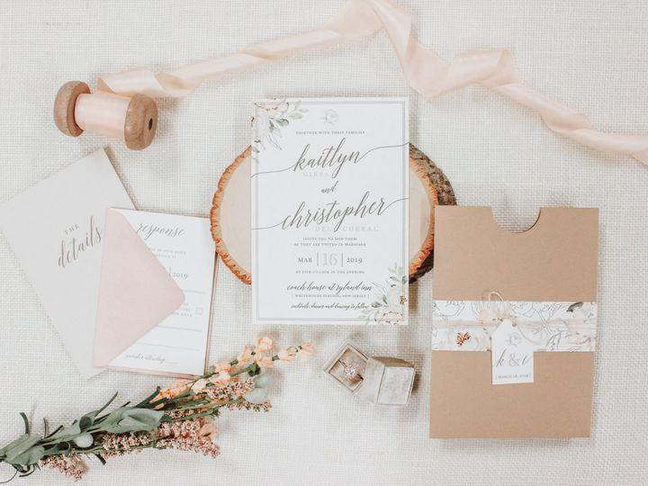 Tmx Kaitlyn Gibbs 51 560428 Farmingdale, New Jersey wedding invitation