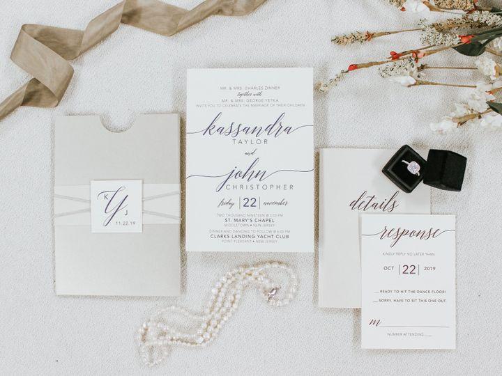 Tmx Kassandra Zinner 51 560428 1569785200 Farmingdale, New Jersey wedding invitation