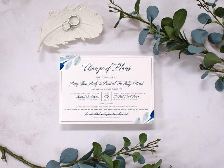 Tmx Kerry Healey Change The Dates 2 51 560428 159699535854815 Farmingdale, New Jersey wedding invitation