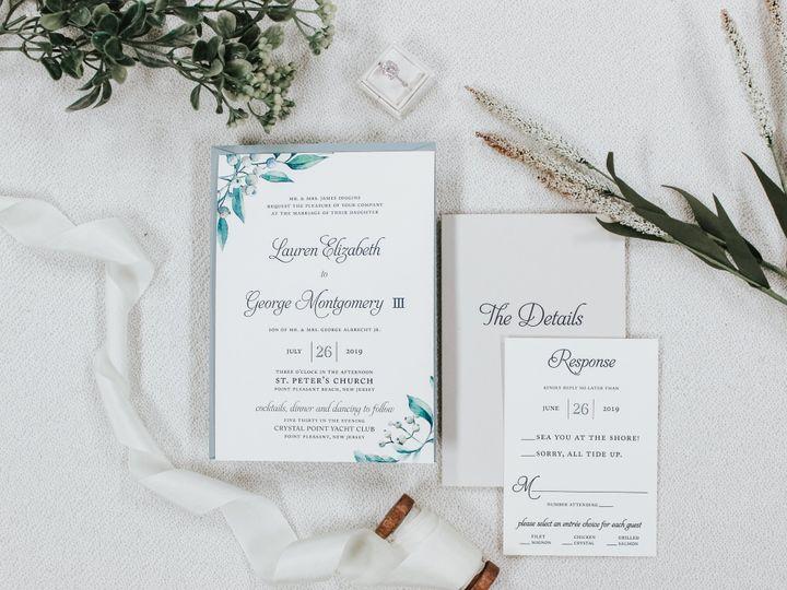 Tmx Lauren Diggins 51 560428 1559596398 Farmingdale, New Jersey wedding invitation