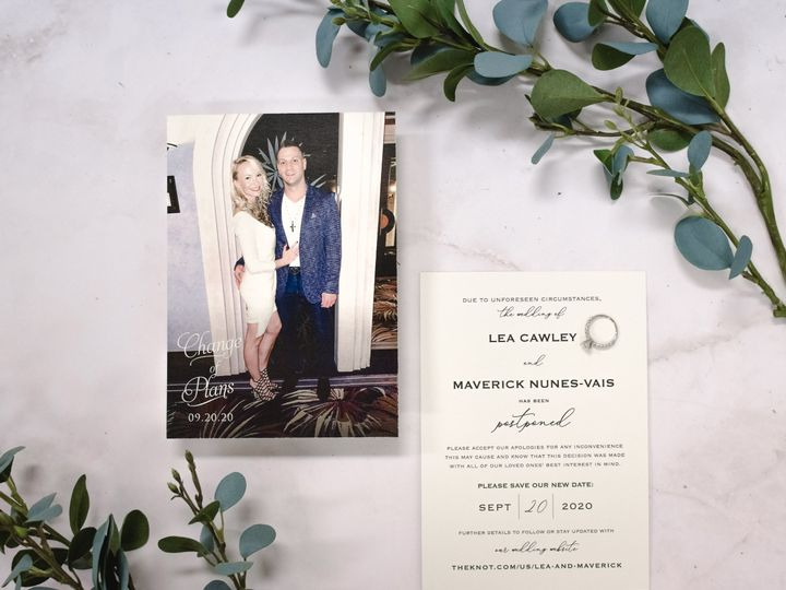 Tmx Lea Cawley Change The Date 2 51 560428 159699535880997 Farmingdale, New Jersey wedding invitation