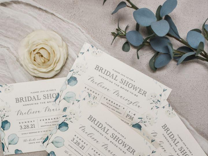 Tmx Melissa Marseglia Bridal Shower 51 560428 162051229091306 Farmingdale, New Jersey wedding invitation