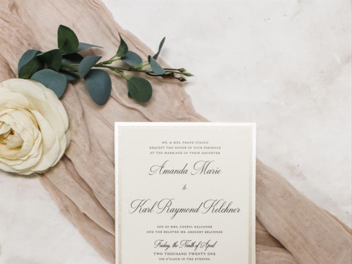 Tmx Minimalist Neutral Nj Wedding Invitations 51 560428 162051204513200 Farmingdale, New Jersey wedding invitation
