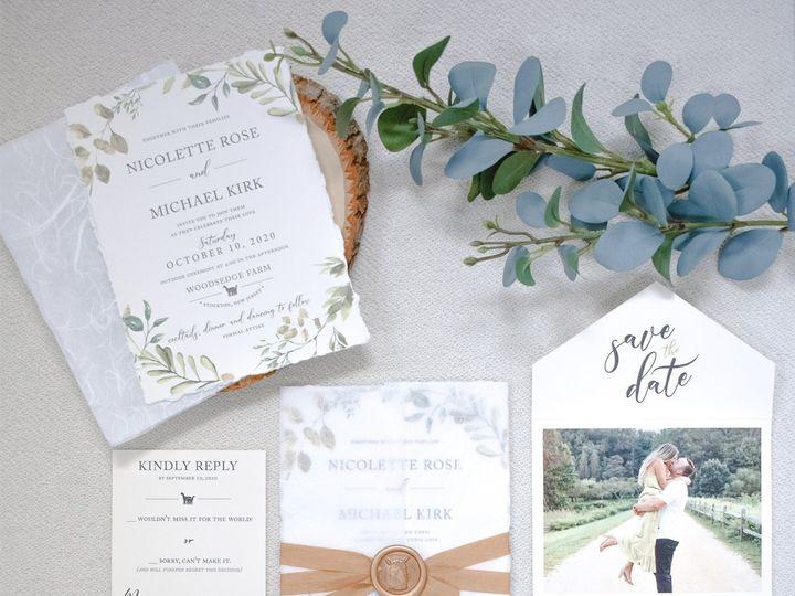 Tmx Nicolette Rose Suite 1 51 560428 159874836331734 Farmingdale, New Jersey wedding invitation
