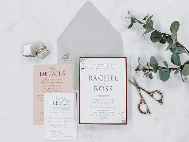 Tmx Rachel Friedman 1 51 560428 1569785203 Farmingdale, New Jersey wedding invitation