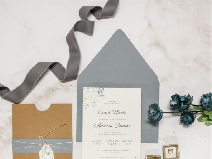 Tmx Rustic Dusty Blue Nj Wedding Invitation 51 560428 162051204878093 Farmingdale, New Jersey wedding invitation