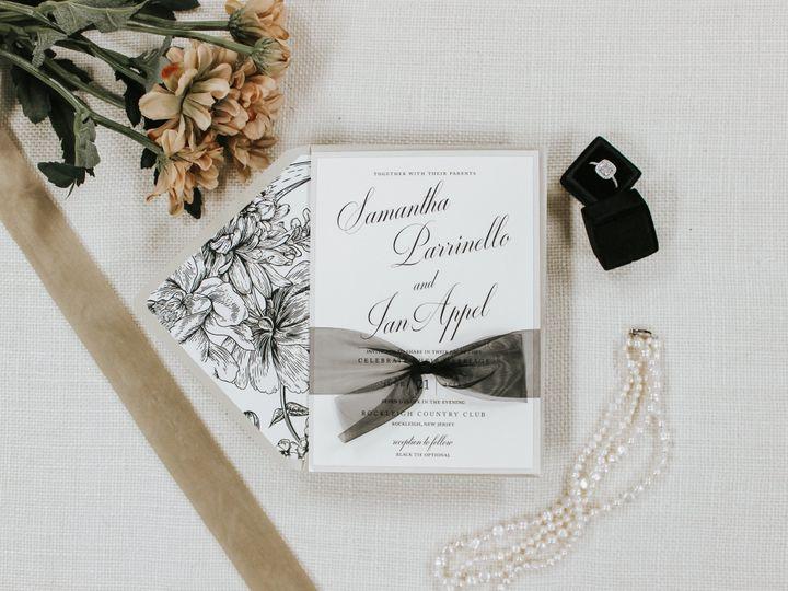 Tmx Samantha Parrinello 51 560428 1559596383 Farmingdale, New Jersey wedding invitation