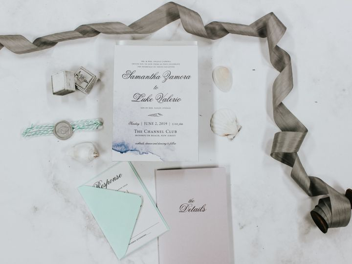 Tmx Samantha Zamora 1 51 560428 1559596399 Farmingdale, New Jersey wedding invitation